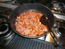 Alimento da carne Fotografia de Stock