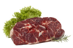 Alimento da carne crua Fotografia de Stock