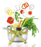 Alimento da dieta Fotos de Stock Royalty Free