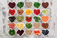 Alimento da dieta da desintoxicação Fotos de Stock Royalty Free