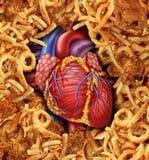 Alimento da doença cardíaca ilustração do vetor