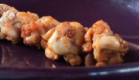 Alimento da galinha fritada Imagens de Stock