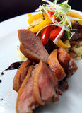 Alimento da galinha fritada Imagem de Stock Royalty Free