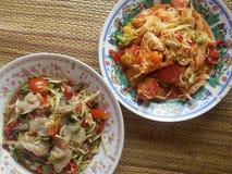 Alimento da papaia Fotografia de Stock Royalty Free