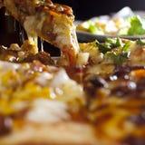 Alimento da pizza Fotos de Stock