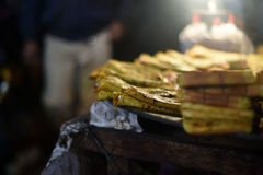 Alimento da rua Imagens de Stock Royalty Free