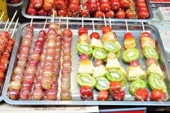 Alimento da rua de China Fotos de Stock Royalty Free