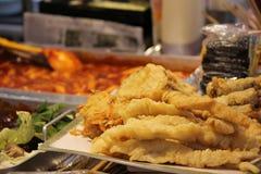 Alimento da rua de Seoul Fotos de Stock