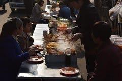 Alimento da rua do Pequim Fotografia de Stock