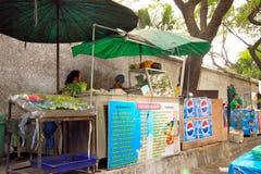 Alimento da rua em Banguecoque Fotos de Stock