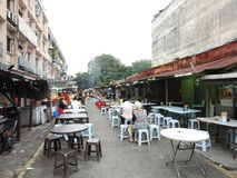 Alimento da rua em Kuala Lumpur Fotografia de Stock Royalty Free