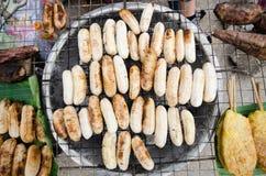 Alimento da rua em Laos Imagens de Stock