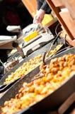 Alimento da rua em Praga Fotografia de Stock