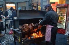 Alimento da rua em Praga Foto de Stock