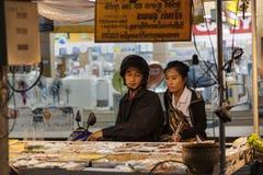 Alimento da rua em Tailândia Fotos de Stock Royalty Free