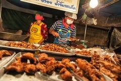 Alimento da rua em Tailândia Imagens de Stock Royalty Free