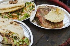 Alimento da rua fora Imagens de Stock Royalty Free