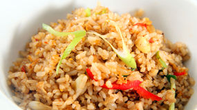 Alimento de Ásia do arroz fritado Imagens de Stock Royalty Free