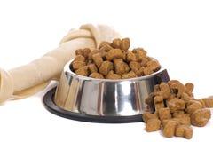 Alimento de animal de estimação Fotografia de Stock Royalty Free