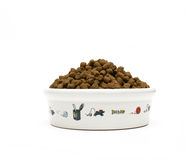 Alimento de animal de estimação Foto de Stock Royalty Free