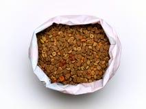 Alimento de animal de estimação fotografia de stock