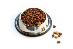 Alimento de animal de estimação Fotos de Stock