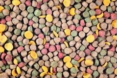 Alimento de animal doméstico colorido imagen de archivo libre de regalías