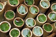 Alimento de bambu Fotos de Stock Royalty Free