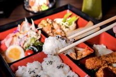 Alimento de Bento Japón Imagen de archivo