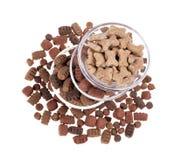 Alimento de cão imagem de stock royalty free