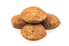 Alimento de cão seco imagens de stock