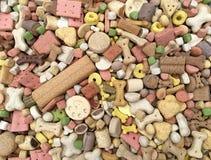 Alimento de cão seco Fotografia de Stock