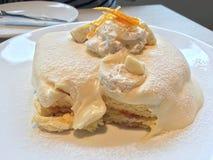 Alimento de café da manhã de tokyo das panquecas Imagem de Stock Royalty Free
