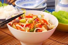 Alimento de China Imágenes de archivo libres de regalías