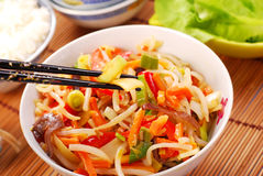 Alimento de China fotos de archivo