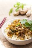 Alimento de China - tallarines imagen de archivo libre de regalías