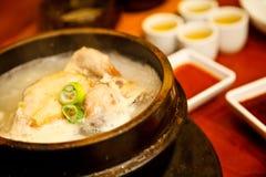 Alimento de Coreia Fotografia de Stock