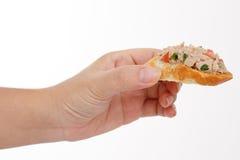 Alimento de dedo Foto de Stock