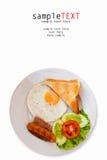 Alimento de desayuno Imagen de archivo libre de regalías