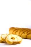 Alimento de desayuno del pan Fotografía de archivo libre de regalías