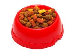 Alimento de gato Imagem de Stock