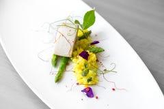 Alimento de gourmet delicioso foto de stock royalty free