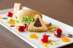 Alimento de gourmet delicioso Imagem de Stock Royalty Free