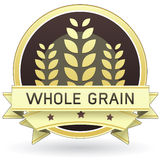 Alimento de grão ou etiqueta inteira do produto Foto de Stock Royalty Free
