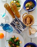 Alimento de Grécia Foto de Stock