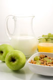 Alimento de Healhty, pequeno almoço Foto de Stock Royalty Free