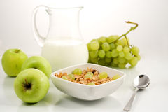 Alimento de Healhty, pequeno almoço Imagens de Stock
