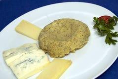 Alimento de Italina - Polenta e queijo Imagem de Stock