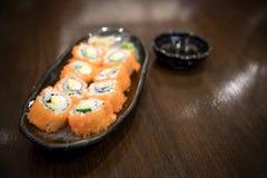 alimento de japão do sushi Fotos de Stock