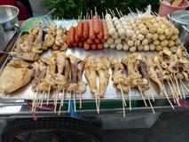 Alimento de la calle de Bangkok fotografía de archivo libre de regalías